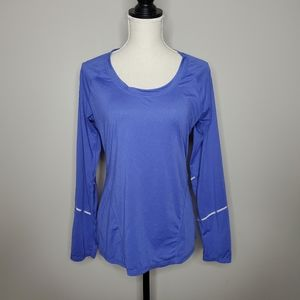 Zella Performance Top with Reflective Tape